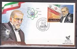 Iran 2021 Martyr Mohsen Fakhrizadeh  FDC     MNH - Iran