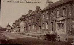 27-BOURG-ACHARD....LE BUREAU DE POSTE...CPA ANIMEE - Other Municipalities