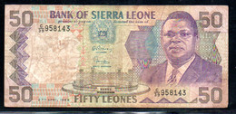 329-Sierra Leone 50 Leones 1989 C39 - Sierra Leone