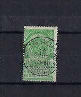 N°56 GESTEMPELD Postes Militaires 1 Belgique COBA € 22,50 SUPERBE - 1893-1900 Thin Beard