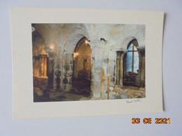 Monastere Saint Pierre De Mauriac. Vue De La Salle Capitulaire. Tarlier - Mauriac