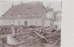 PHOTO ALLEMANDE - GUERRE 14-18 - MÜLHEIM BEI FREIBURG (ALLEMAGNE) - BOMBARDEMENT AÉRIEN DE 1916 - Guerra 1914-18