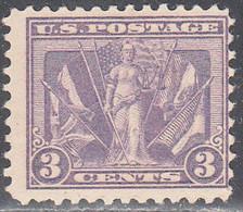 UNITED STATES   SCOTT NO  537   MINT HINGED     YEAR  1919 - Ungebraucht