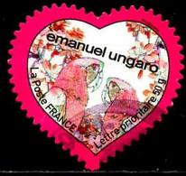 France Poste AA Obl Yv: 266 Mi:4587 Emanuel Ungaro Cœur (cachet Rond) - Sellos Autoadhesivos