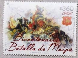 Chile 2018. Bicentennial Battle Of Maipú. History. Independence. Gral. San Martín.  MNH** - Chili