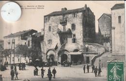 20  2-A Carte Postale Ancienne De  SARTENE  Marché Et Mairie - Sartene