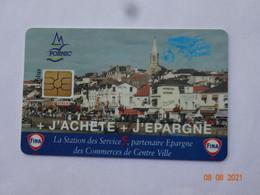 CARTE A PUCE CHIP CARD  CARTE FIDÉLITÉ  CARTAPLUS PORNIC 44 LOIRE-ATLANTIQUE - Gift And Loyalty Cards