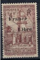 COTE DES SOMALIS   N°  YVERT  206      OBLITERE       ( Ob   2 / 29 ) - Oblitérés