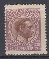 ++M1704. Danish West Indies 1915. Michel 51. MH(*) Heavily Hinged - Dinamarca (Antillas)