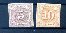 THURN+TAXIS 1859 Nr 18+19 Postfrisch (408764) - Thurn En Taxis