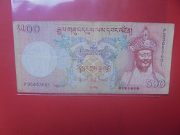 BHOUTAN 500 N'GULTRUM 2006 Circuler (B.24) - Bhutan