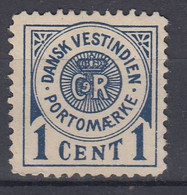 ++M1710. Danish West Indies 1902. Due Stamp. Michel 1 Without Gum! - Dinamarca (Antillas)