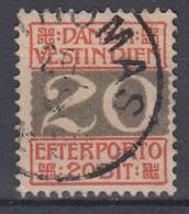 ++M1714. Danish West Indies 1905. Due Stamp. Michel 6. Cancelled - Dinamarca (Antillas)
