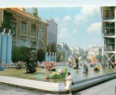 CPSM Paris-Place Stravinsky Et Fontaine De Tinguely-Timbre     L836 - Piazze
