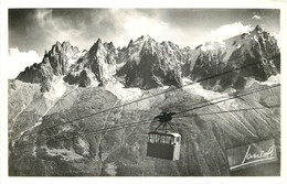 74 - CHAMONIX  - TELEFERIQUE DU BREVENT - Chamonix-Mont-Blanc