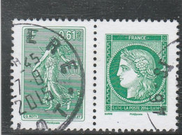 FRANCE 2014 LA LETTRE VERTE A 3 ANS OBLITERE A DATE   YT 4908 + 4909 = P4908/09 - Used Stamps
