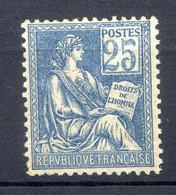 TIMBRE MOUCHON N°114 NEUF** Avec Bon CENTRAGE Coté 840€ - 1900-02 Mouchon