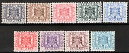 Spagna 1940 Telegrafo Unif.76/81,83/84,90 */MH VF/F - Telegraph