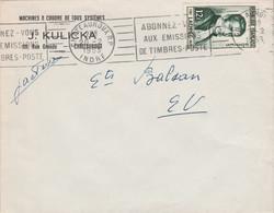 N°936 SEUL SUR LETTRE DE CHATEAUROUX 1953 - 1921-1960: Modern Period