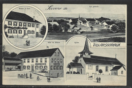 Carte P ( Villarsiviriaux ) - FR Fribourg