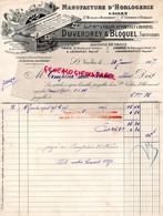 76- SAINT ST NICOLAS D' ALIERMONT- SAINT GERMAIN D' ETABLES- RARE LETTRE DUVERDREY & BLOQUEL-VILLON-PARIS LONDRES-1907 - Petits Métiers