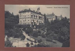 Vaud - LAUSANNE - Grand Hôtel Richemond - Partie De Tennis - VD Vaud