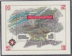 ÖSTERREICH Block 8, Postfrisch **, Konferenz über Sicherheit Und Zusammenarbeit In Europa 1986 - Blocs & Hojas