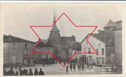 Photo Novembre 1918 SOMMEVOIRE (près Wassy) - Soldats Américains Place Notre Dame (A232, Ww1, Wk 1) - Places