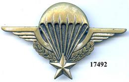 17492 .BREVET PARACHUTISTE No 190135 - Armée De Terre