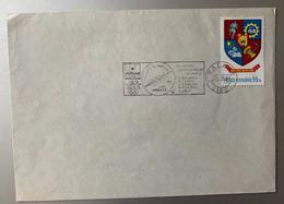 14228 - Roumanie Flamme Felicitari Campioanelor Los Angeles 1984 Bacau 13.08.1984 - Aviron