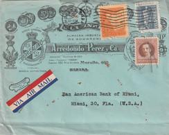 Havana Cuba Old Cover Mailed - Brieven En Documenten