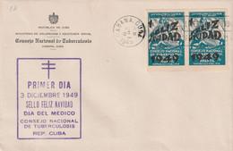 Cuba 1949 FDC - FDC