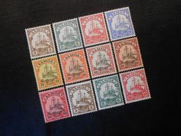 D.R.7**/8**/9**/10*-15*/20*-22* Deutsche Kolonien (Samoa)  1900  Mi 23 € - Colonia: Samoa