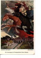 DER KRIEG.  DRESDEN  N°138.  Par ARNOLD BOCKLIN  1896.  TRES BON ETAT.. Voir SCANS Recto-verso - War 1914-18