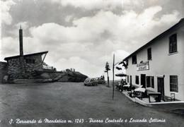 S.BERNARDO DI MENDATICA-m.1263-PIAZZA CENTRALE E LOCANDA SETTIMIA-VG 1961-Nessun Difetto- - Imperia