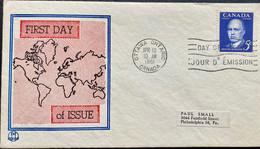 CANADA 1961 ARTHUR MEIGHEN  PRIVATE FDC - 1961-1970