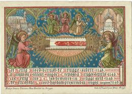 Holy Card Heilig Bloed Brugge Canivet Santini Image Pieuse Sanktje Goldprint Ed Vanden Vyvere - Devotion Images