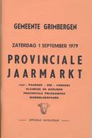 Provinciale Jaarmarkt Grimbergen 1979 - Programas