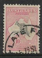 AUSTRALIA 1932 10s SG 136 FINE USED Cat £150 - Usados