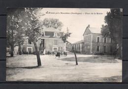 24 - St Front Pres Mussidan - Place De La Mairie - Animée - Autres Communes