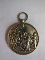 Médaille Souvenir Concours De Manoeuvres De Pompes à Incendie Du 04 Juin 1893 La Fertè-sous-Jouarre 77 - Bomberos