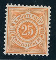 Württemberg Michel Nummer 57 Postfrisch - Wuerttemberg