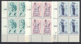 Österreich / Austria 1970, Operetten (I), Operetta **, MNH, Block Of 4, Corner Margin - 1961-70 Ongebruikt