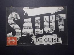 CPA - GUISE (02) - SALUT De Guise - Multi Vues (4036) - Guise