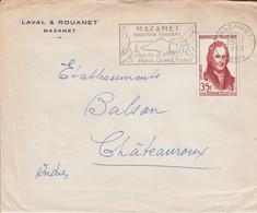 N° 1149 SEUL SUR LETTRE DE MAZAMET 1958 - 1921-1960: Modern Period