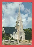 C.P.S.M..( 29 ) « BRIGNOGAN » Elégante Eglise Moderne(sue Plan De James Bouillé) - Jolie Vue Générale X2 Phts - Brignogan-Plage