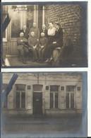 TURNHOUT - Huis En Kantoor + Personeel Van De Duitse Plaatskomandant (Officier) Oorlog 1914-1918 (2 Foto's 12x8.5 Cm) - War 1914-18