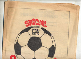 Journal Alsace Supplément Coupe Monde Football 1974 - 1950 - Today