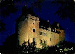 12 - Entraygues Sur Truyère - Le Château Illuminé - Vue De Nuit - CPM - Voir Scans Recto-Verso - Sonstige Gemeinden