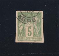 SAGE N° 106 NON DENTELE Oblitéré Dans Le NORD - REF 1604 - 1898-1900 Sage (Type III)